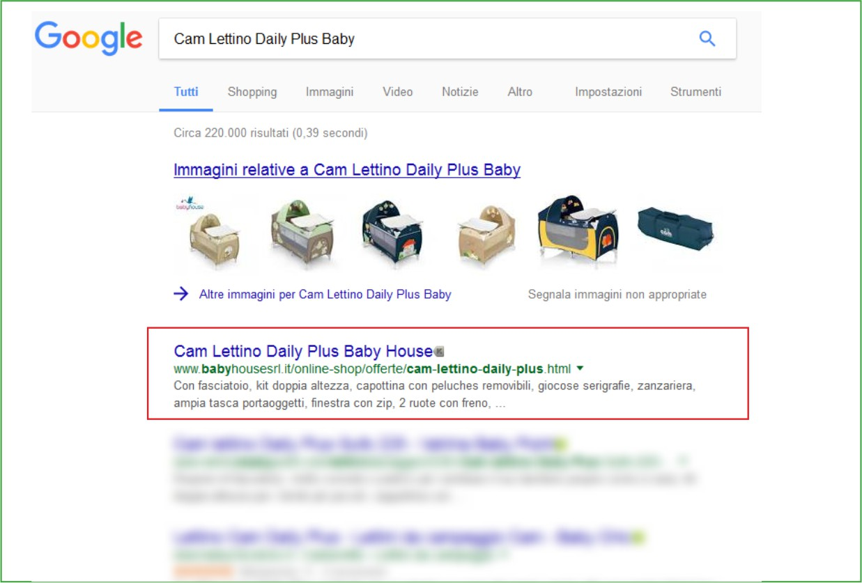 LimoneWeb.it - Primi su Google - Baby House