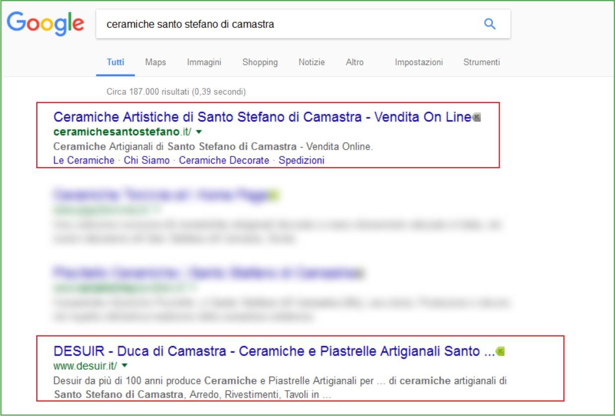 LimoneWeb.it - Primi su Google - Ceramiche Santo Stefano