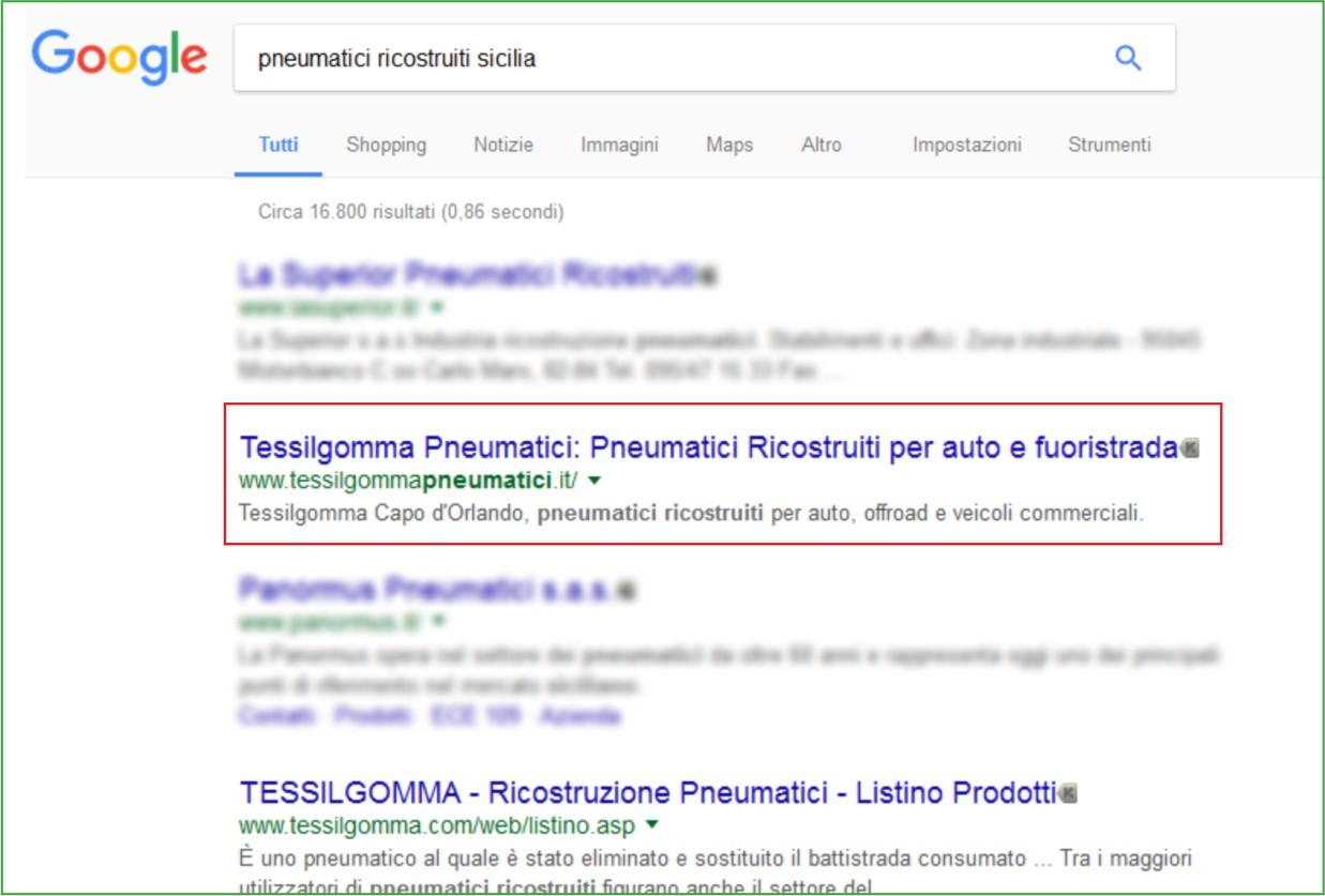 LimoneWeb.it - Primi su Google - Pneumatici Ricostruiti